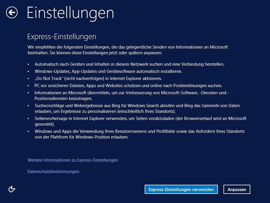 Klassisches Startmenü Windows 8.1