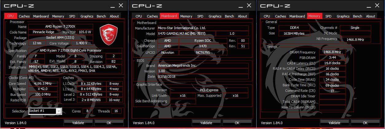 Klicken Sie auf die Grafik für eine größere Ansicht  Name:114. CPU-Z 4,2GHz, 2933 MHz RAM.JPG Hits:56 Größe:142,2 KB ID:1000603