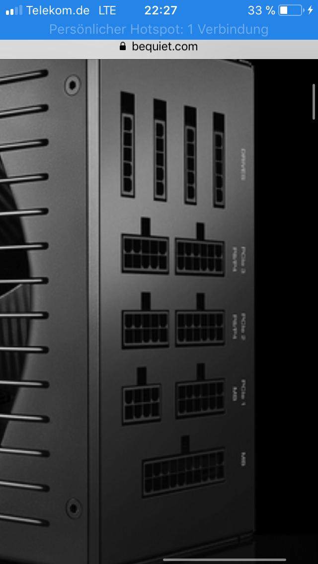 Netzteil richtig verkabeln/ be quiet straight power 11