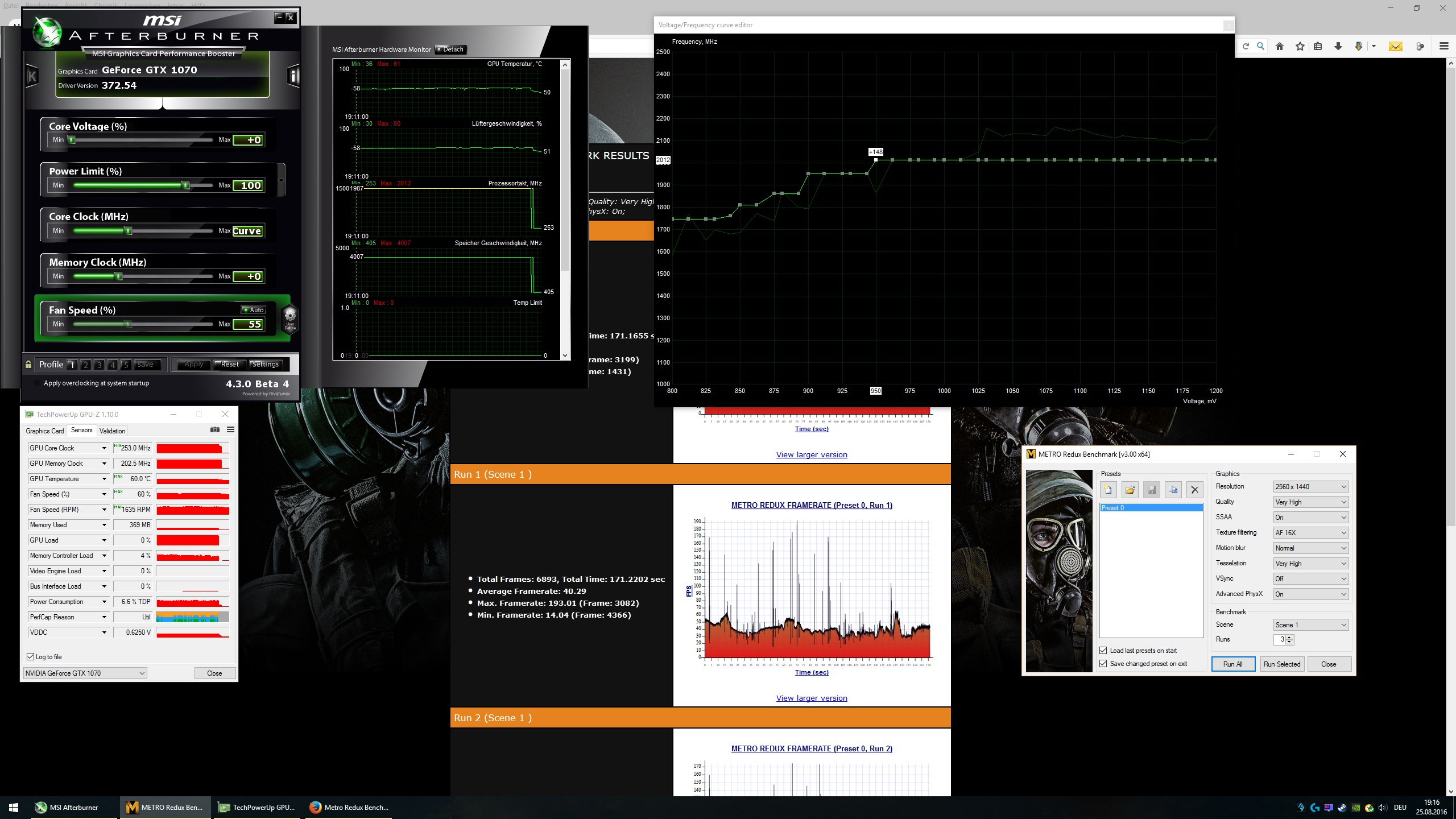 Monacoin 1070 ti mods : Metronome 68 bpm health
