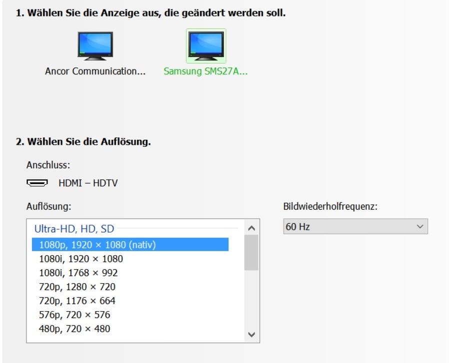 beide monitore gleich skalieren windows 10