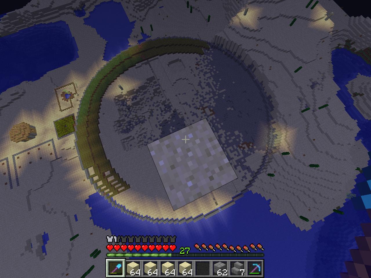 Minecraft Fläche Füllen