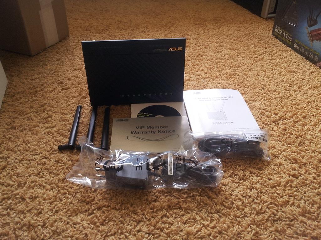 Lesertest: Asus RT-AC68U AC1900 und Asus PCE-AC68