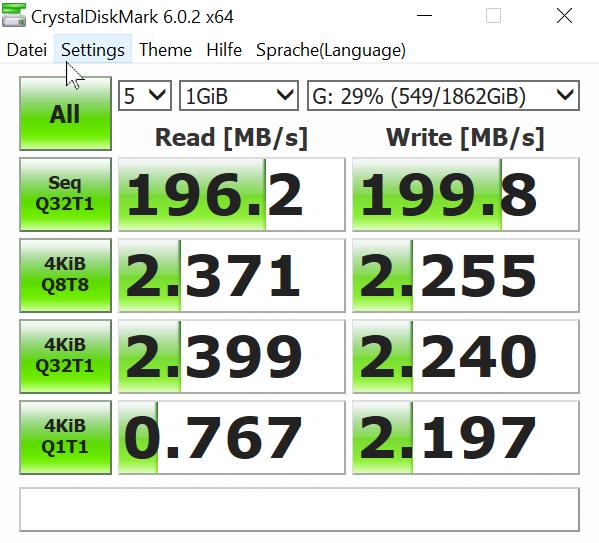 Klicken Sie auf die Grafik für eine größere Ansicht  Name:2020-05-24 13_46_42-CrystalDiskMark 6.0.2 x64.png Hits:82 Größe:76,2 KB ID:1090128