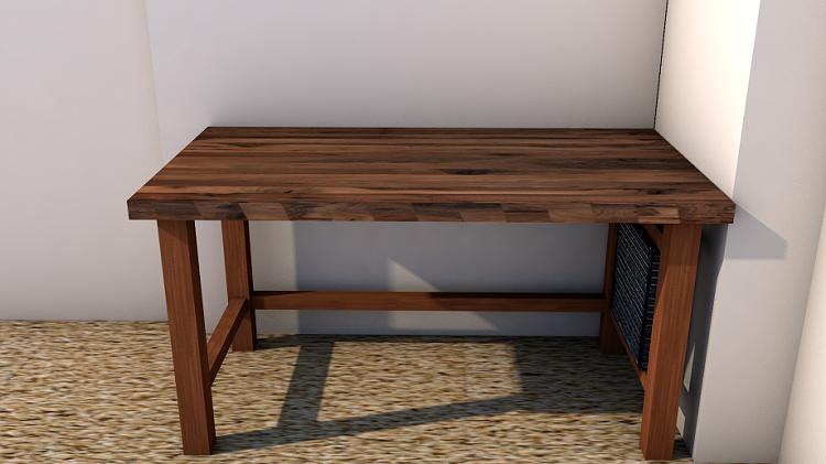 Tischplatte selber verleimen  Projekt] Ein Tisch entsteht - von Grund auf. | Lets go