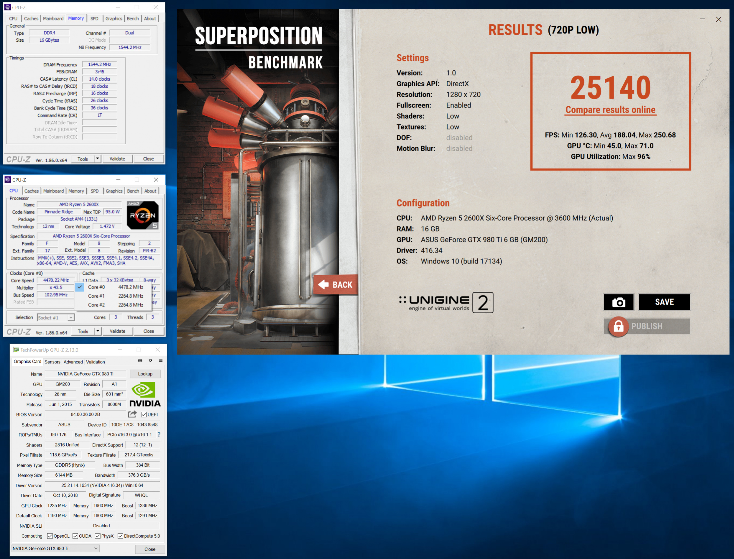 Ranking] Unigine Superposition