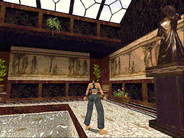 Klicken Sie auf die Grafik für eine größere Ansicht  Name:380218-tomb-raider-dos-screenshot-a-sculpture-in-the-pool-room.png Hits:42 Größe:96,8 KB ID:996859