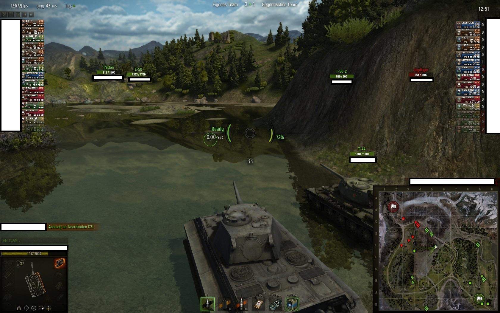 spiel tank