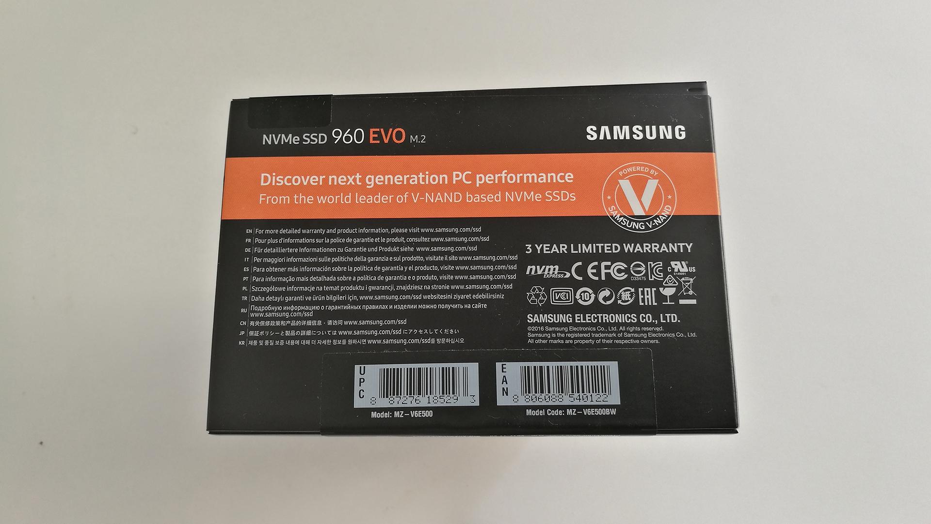 Lesertest Samsung 960 EVO 500GB by eXilitY (1)