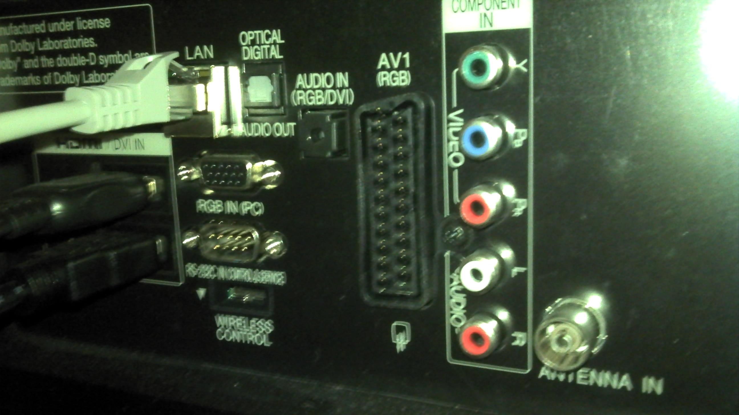 5 1 soundsystem f r tv wireless. Black Bedroom Furniture Sets. Home Design Ideas