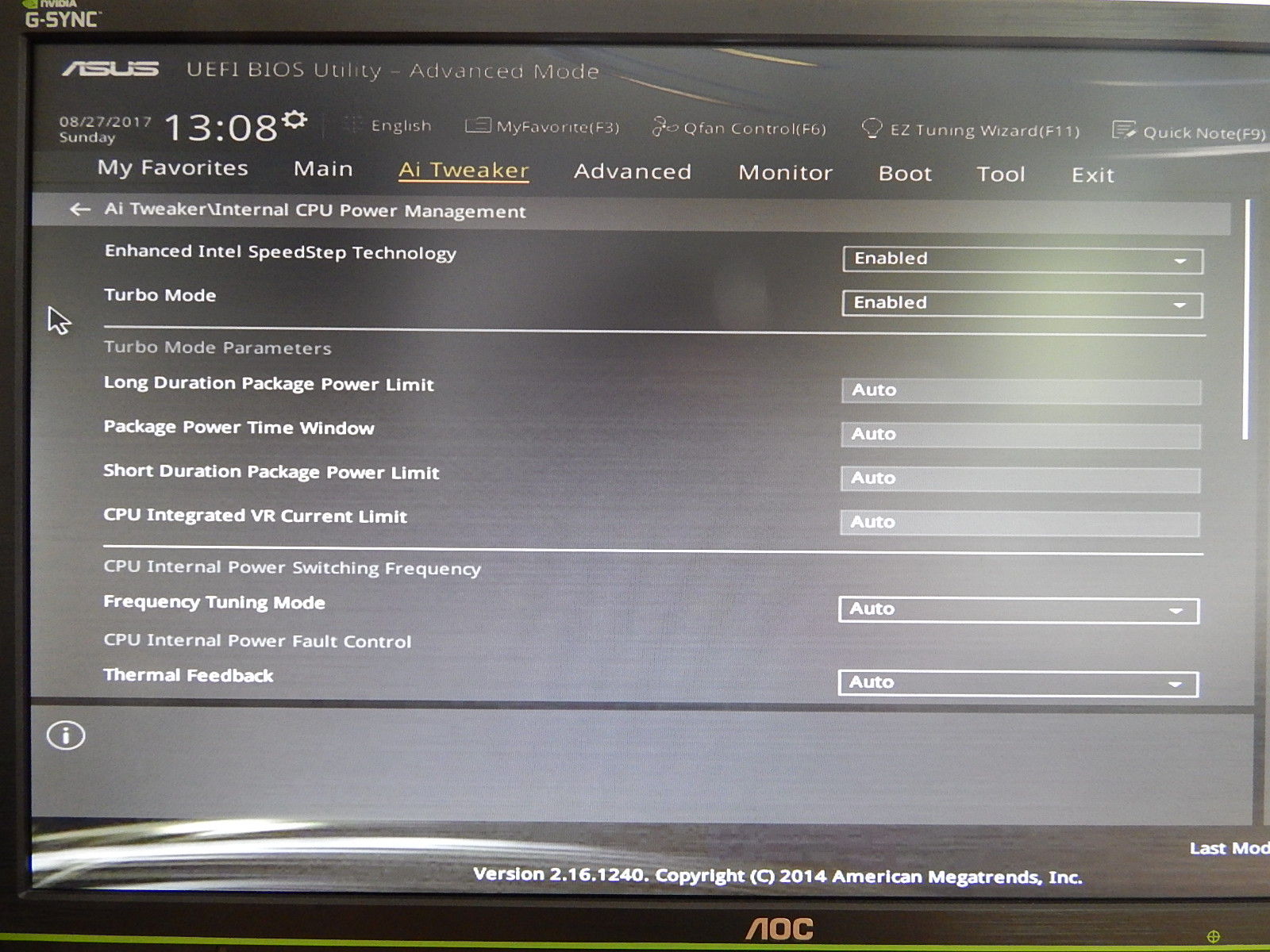 OC: I5 4690K limitiert bei 3700Mhz trotz höherem Multiplikator