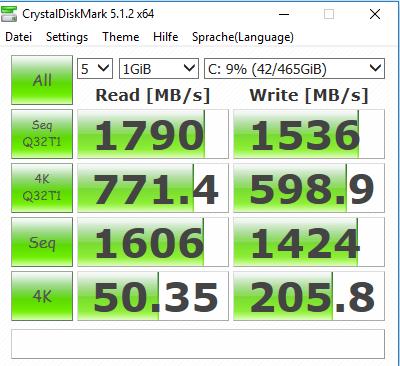Klicken Sie auf die Grafik für eine größere Ansicht  Name:CrystalDisk X2 Einstellung 20171122.PNG Hits:52 Größe:36,1 KB ID:988413