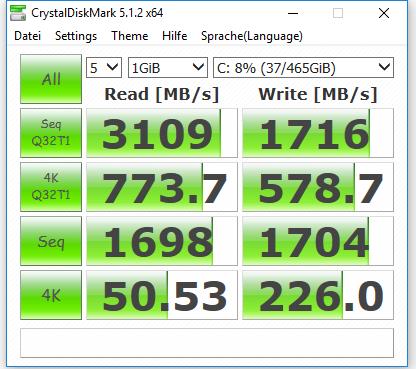 Klicken Sie auf die Grafik für eine größere Ansicht  Name:CrystalDisk X4 Einstellung 20171121-1.PNG Hits:45 Größe:37,7 KB ID:988414