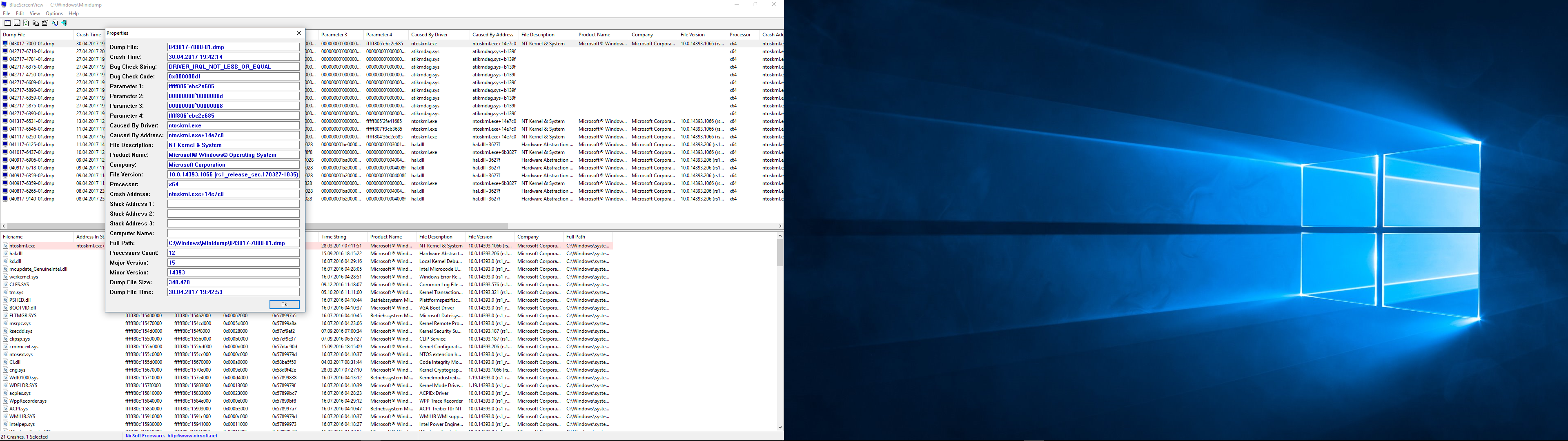 Bsod irql not less or equal intel for 1 plus 1 equals window