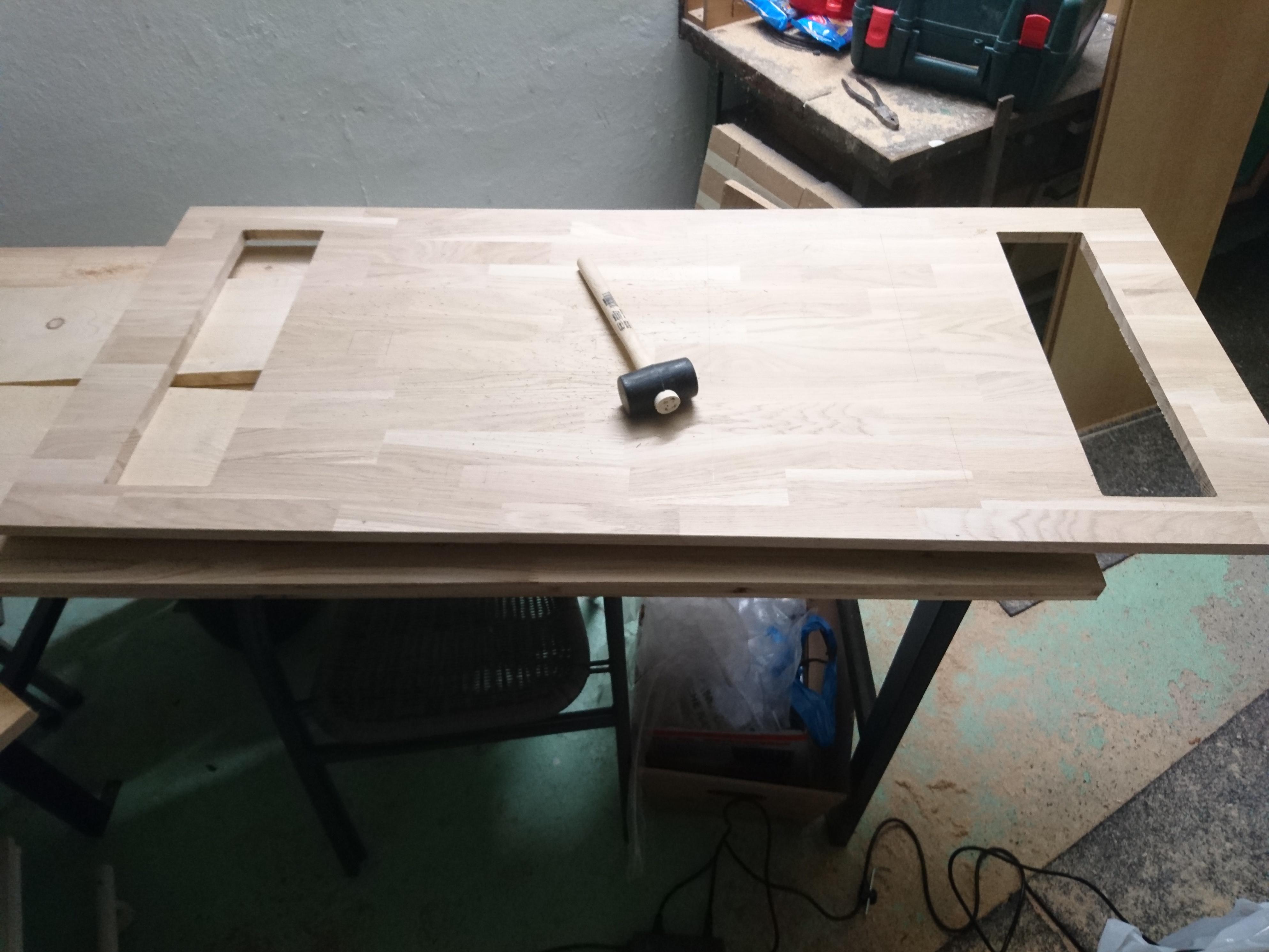 tisch bauen fabulous esstisch nussbaum selber bauen with tisch bauen finest esstisch. Black Bedroom Furniture Sets. Home Design Ideas