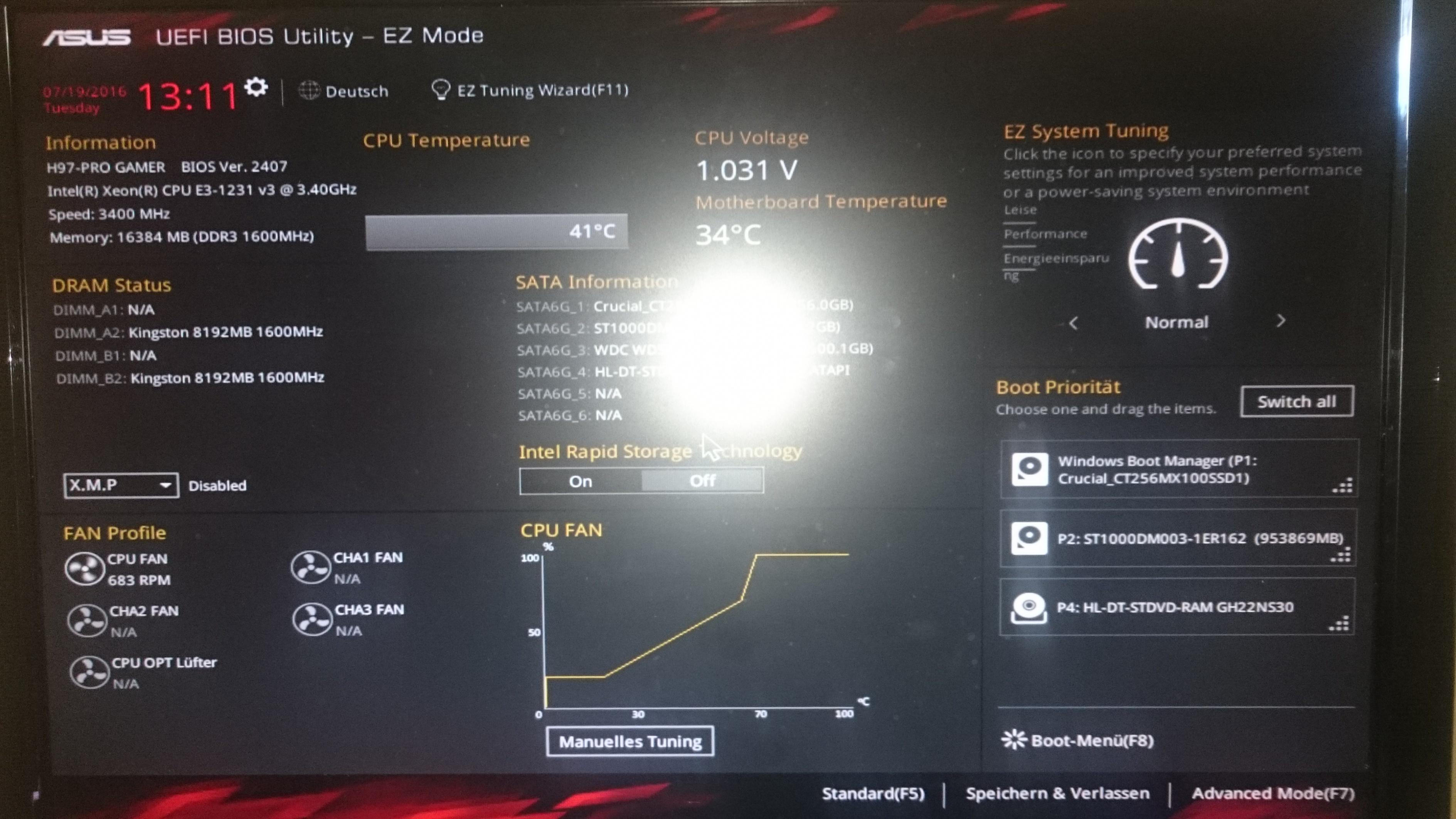 computer reagiert langsam
