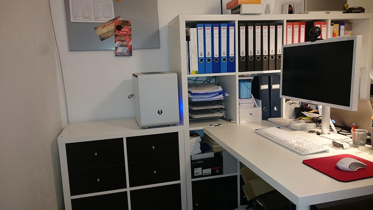 Tagebuch Pc Einbau In Ikea Kallax Regal
