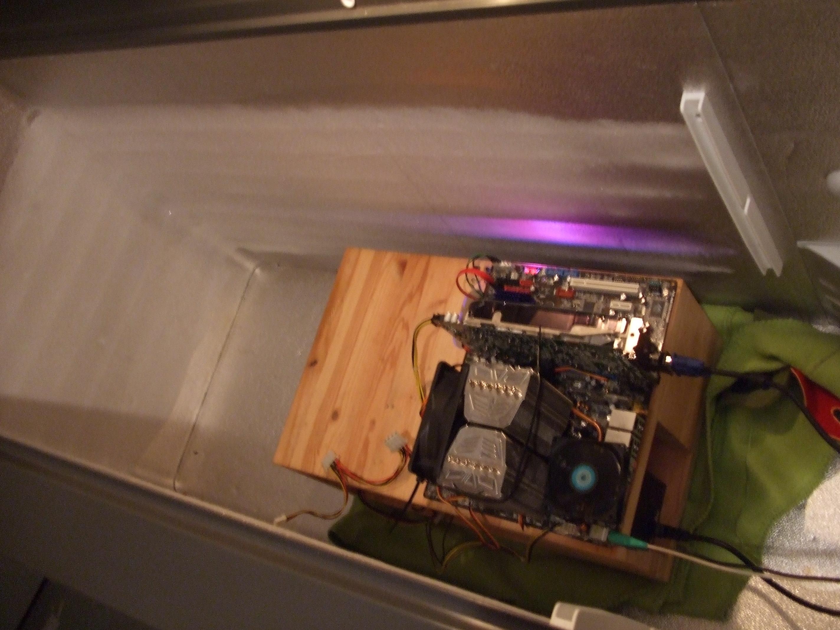 Mini Kühlschrank Bauen : Mini kühlschrank zur kühlung für pc seite