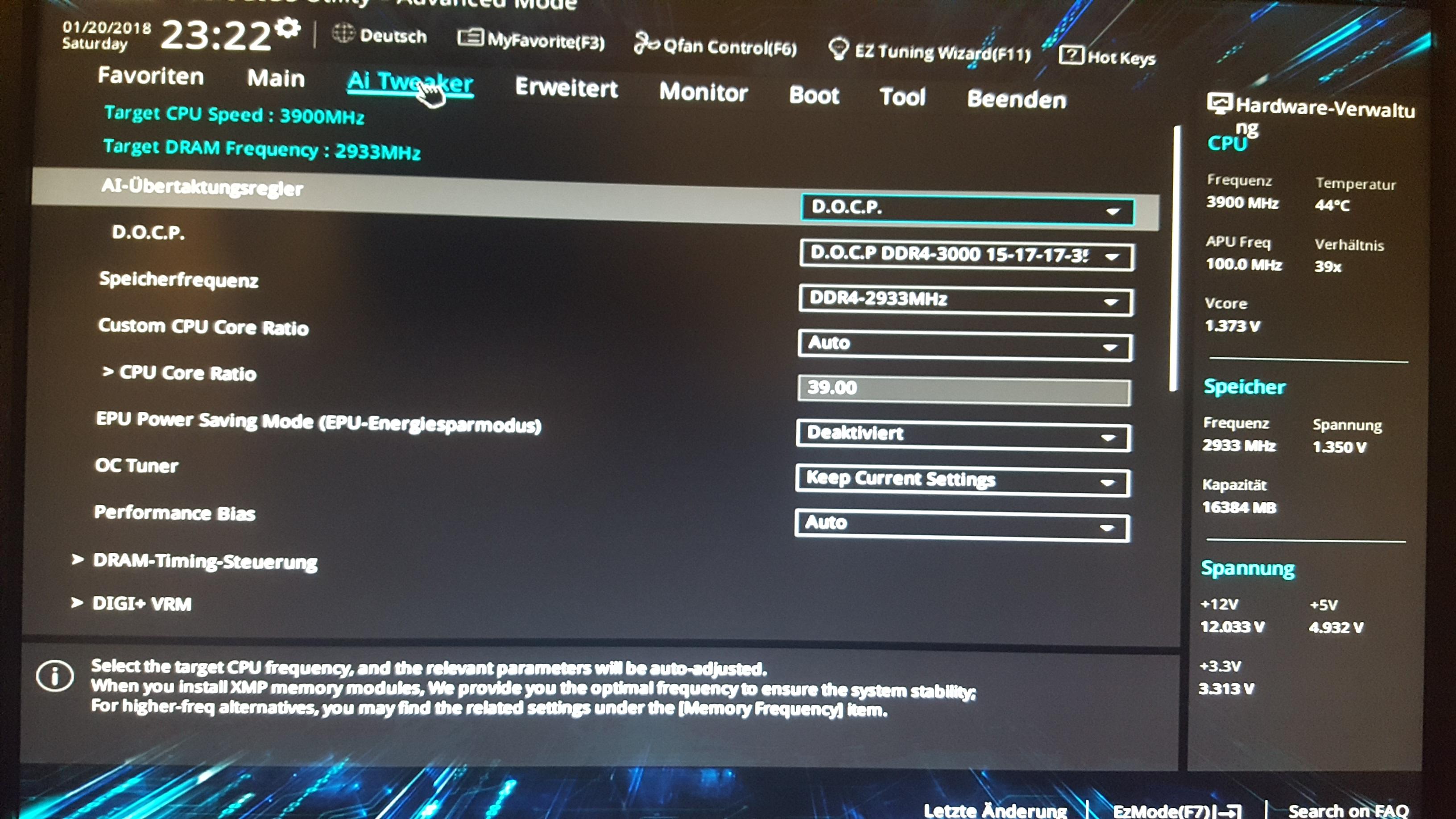 AMD Ryzen 7 1700x - Overclocking - OC - übertakten - Seite 4