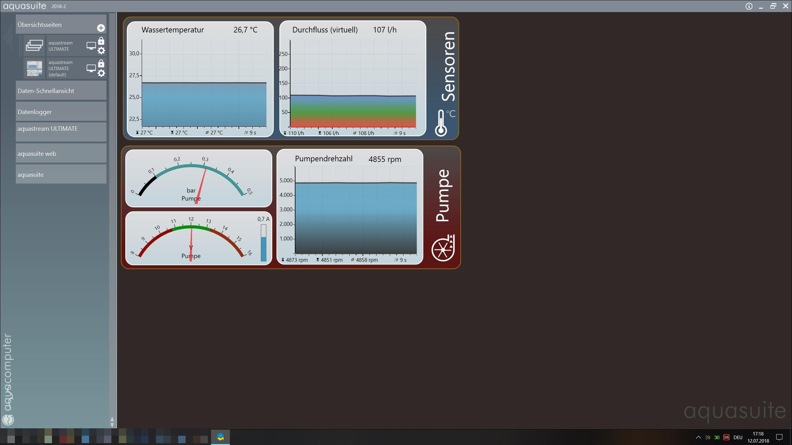 Klicken Sie auf die Grafik für eine größere Ansicht  Name:Erster Start Aquasuite.JPG Hits:25 Größe:439,5 KB ID:1002614