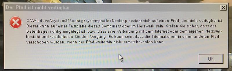 windows auf andere festplatte