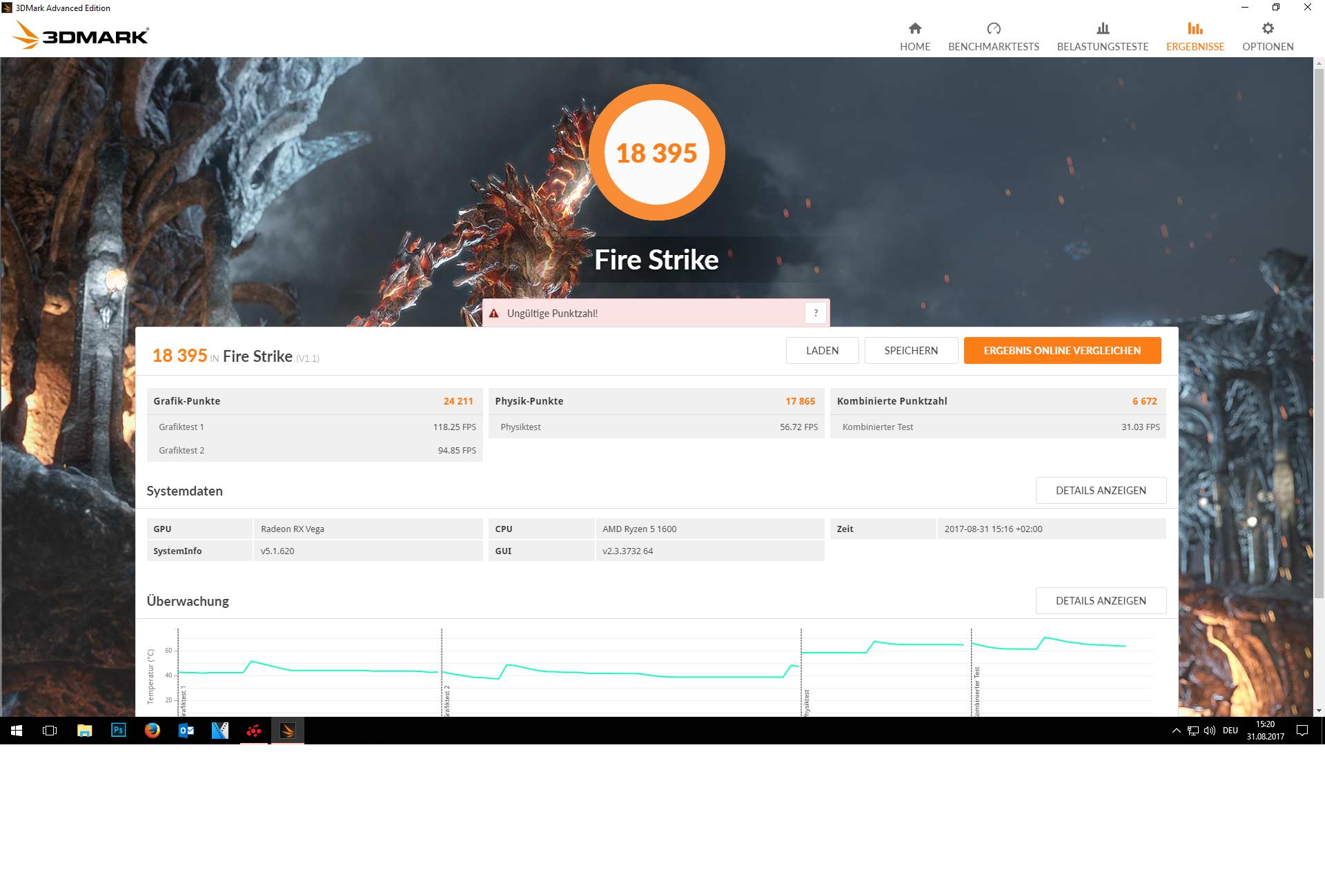 Klicken Sie auf die Grafik für eine größere Ansicht  Name:FireStrike.png Hits:730 Größe:1,29 MB ID:967984