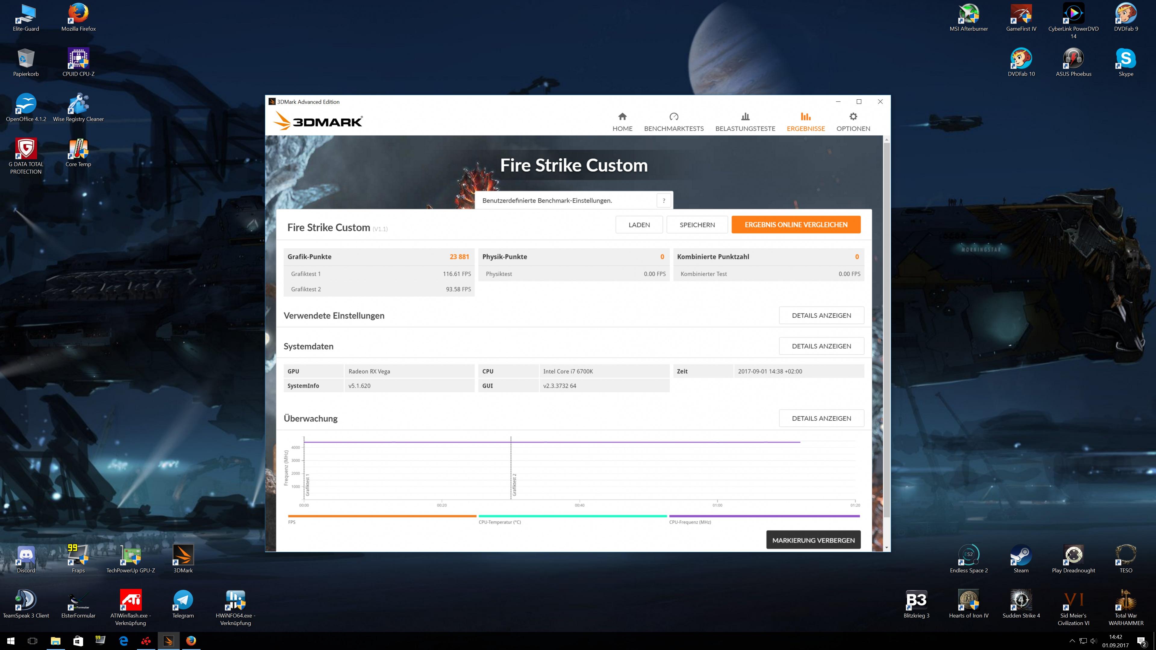 Klicken Sie auf die Grafik für eine größere Ansicht  Name:Firestrike Vega 56 High OC.jpg Hits:160 Größe:1,04 MB ID:968405