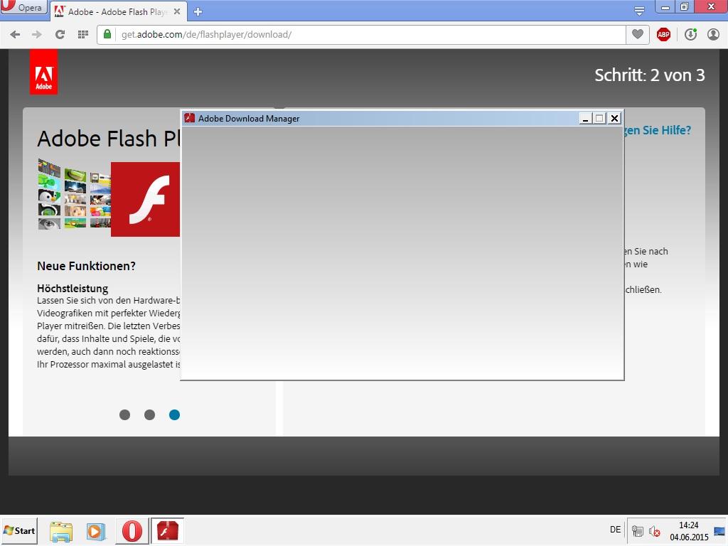 adobe flash player installieren geht nicht