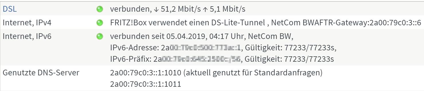 Nextcloud Nach Umstellung Auf Ds Lite