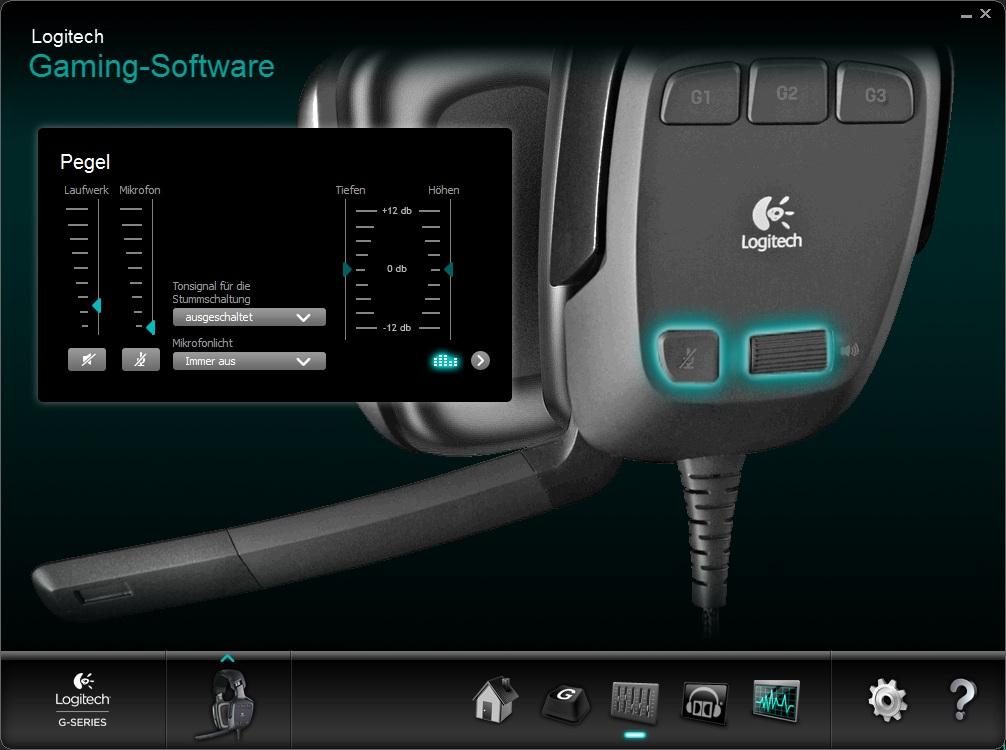 logitech gaming software erkennt g930 nicht automobil bau auto systeme. Black Bedroom Furniture Sets. Home Design Ideas