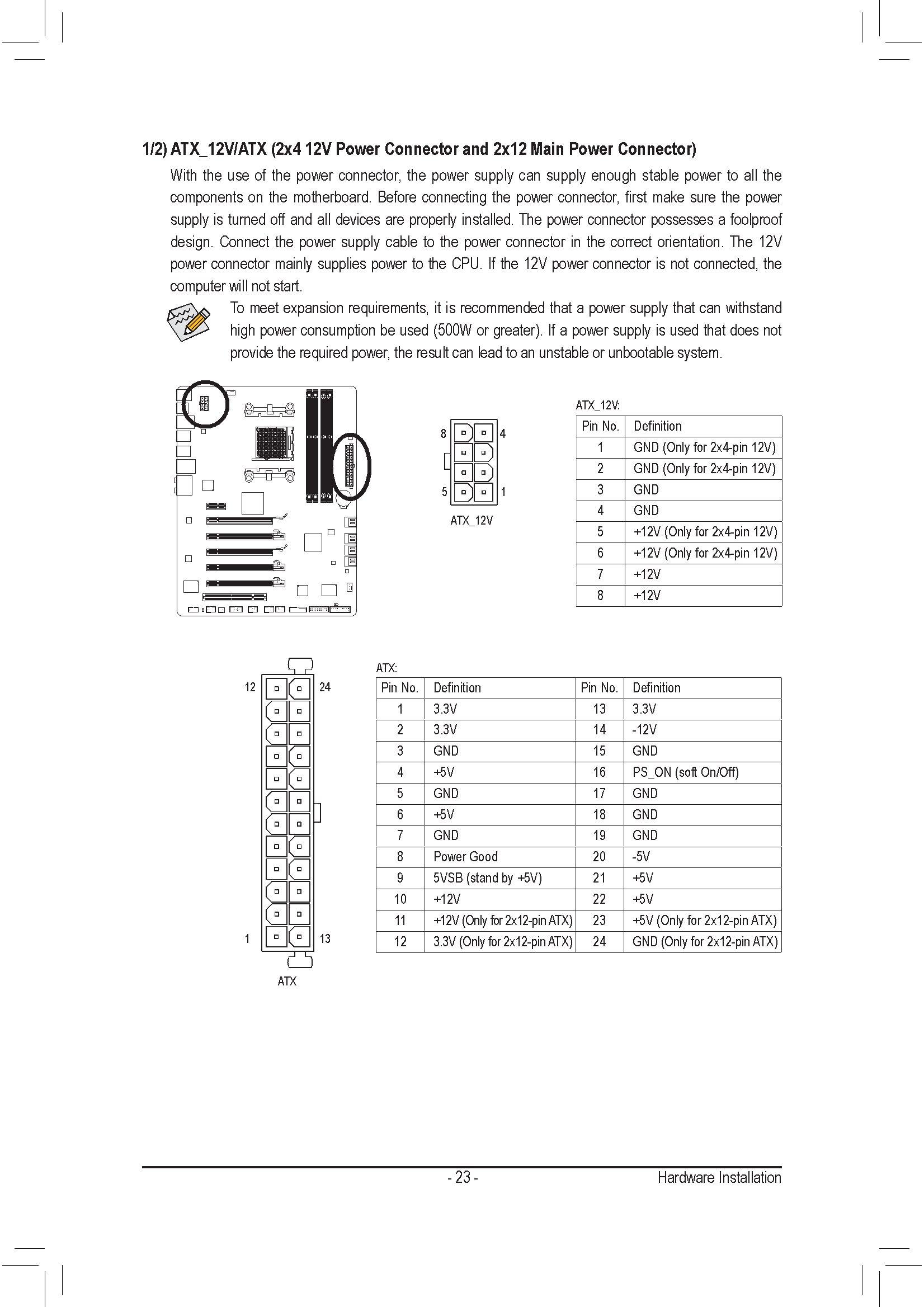 4+4 pol. P8 passt nicht auf ATX12V 8Pin Buchse