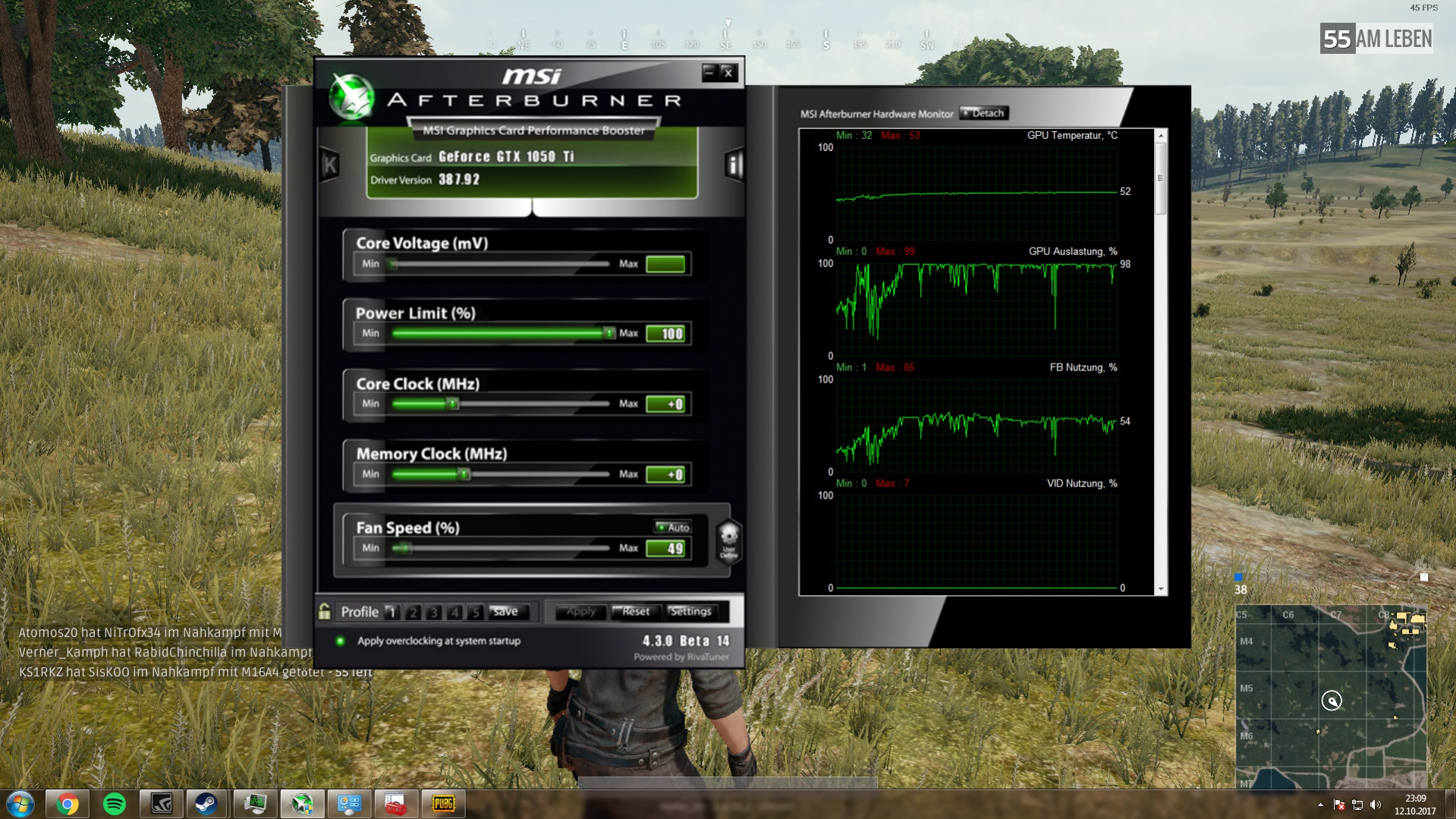 NVIDIA GeForce GTX 1050 Ti und trotzdem niedrige fps