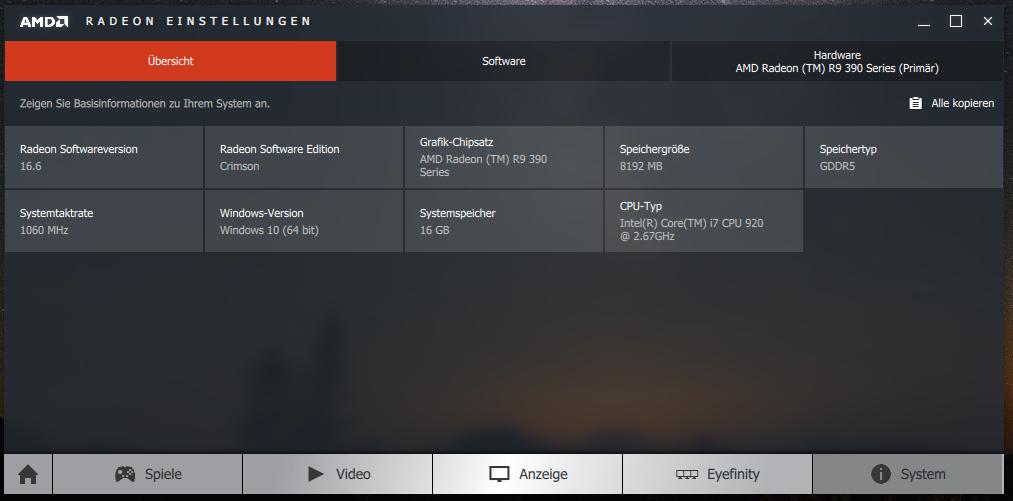 AMD R9 390 schaltet ab