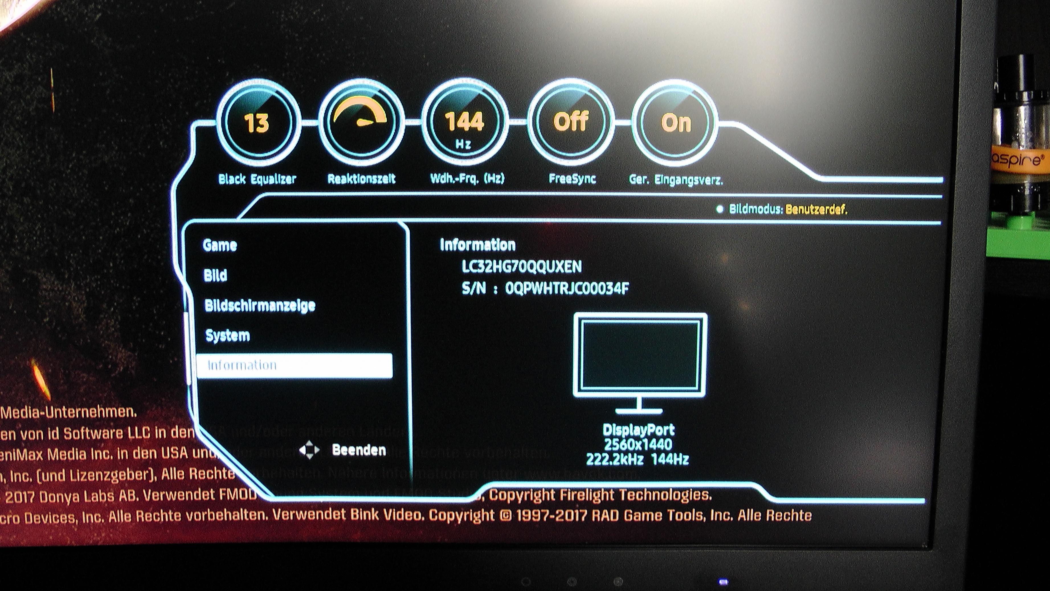 Samsung C32HG70 im Test  HDR & Freesync 2 for Gaming?