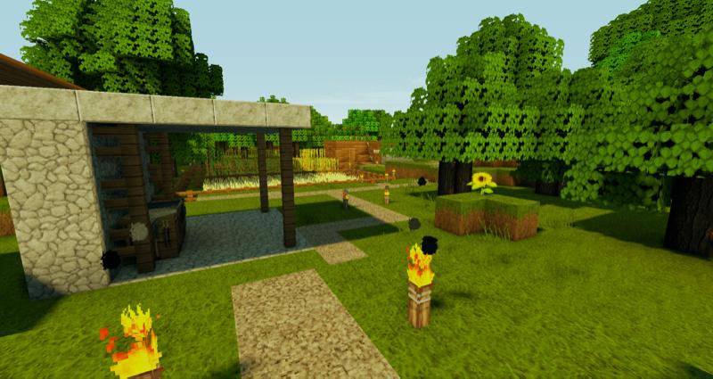 Minecraft - Mit/Ohne Shadermod