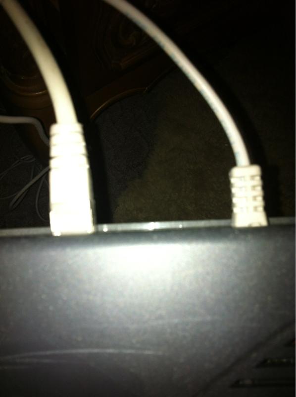 internet router modem splitter welches kabel ist das. Black Bedroom Furniture Sets. Home Design Ideas