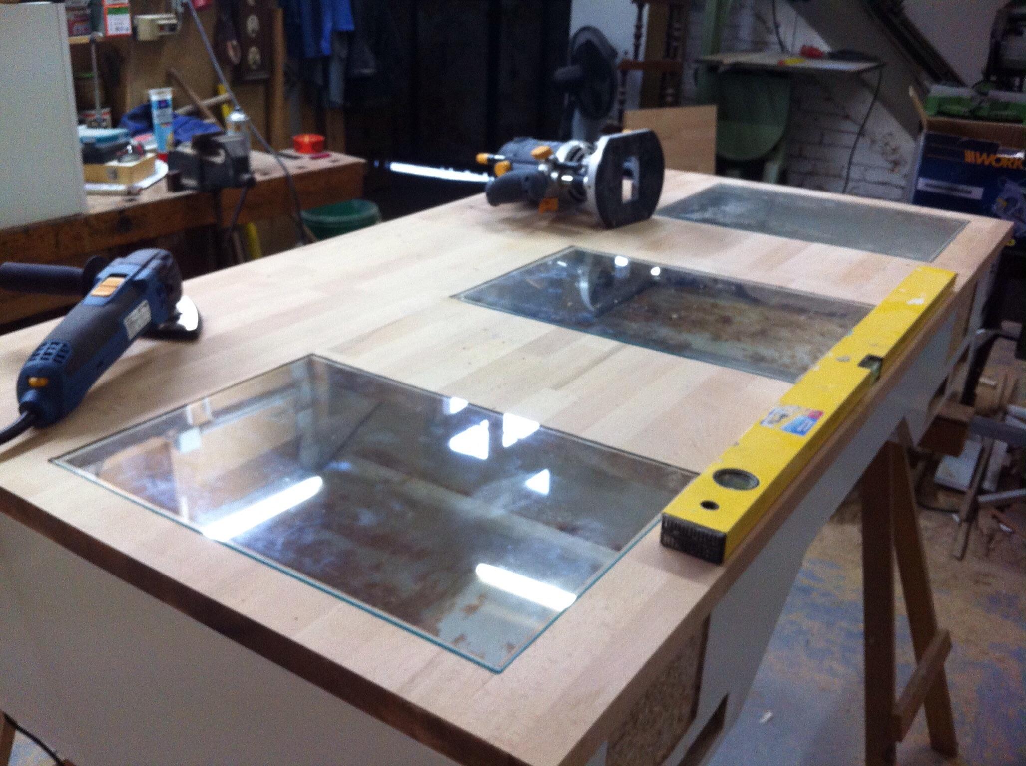 Langzeittagebuch heaven hell deskcon projekt 2 for Schreibtisch 2 meter