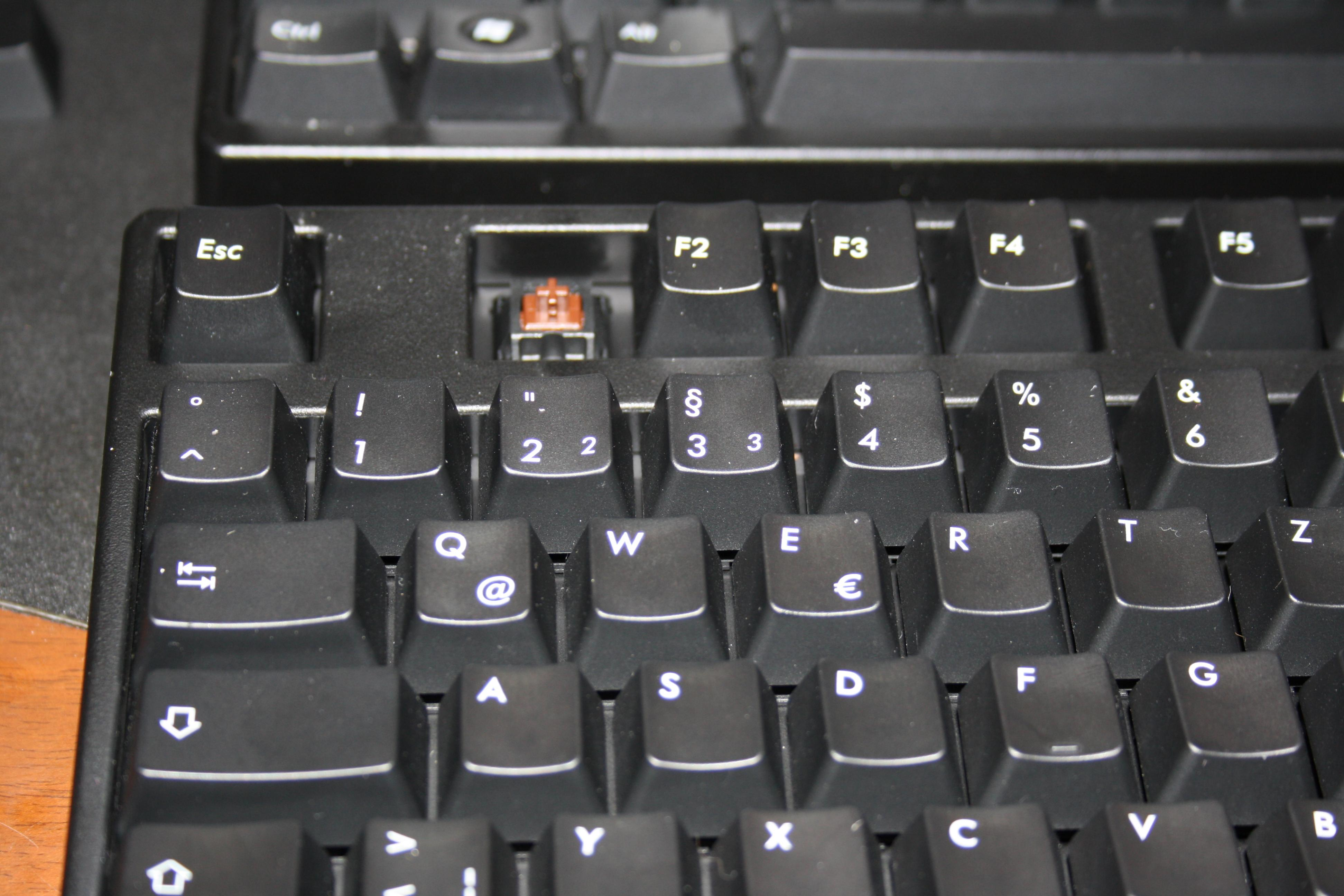 mechanische tastatur leise brown switches. Black Bedroom Furniture Sets. Home Design Ideas