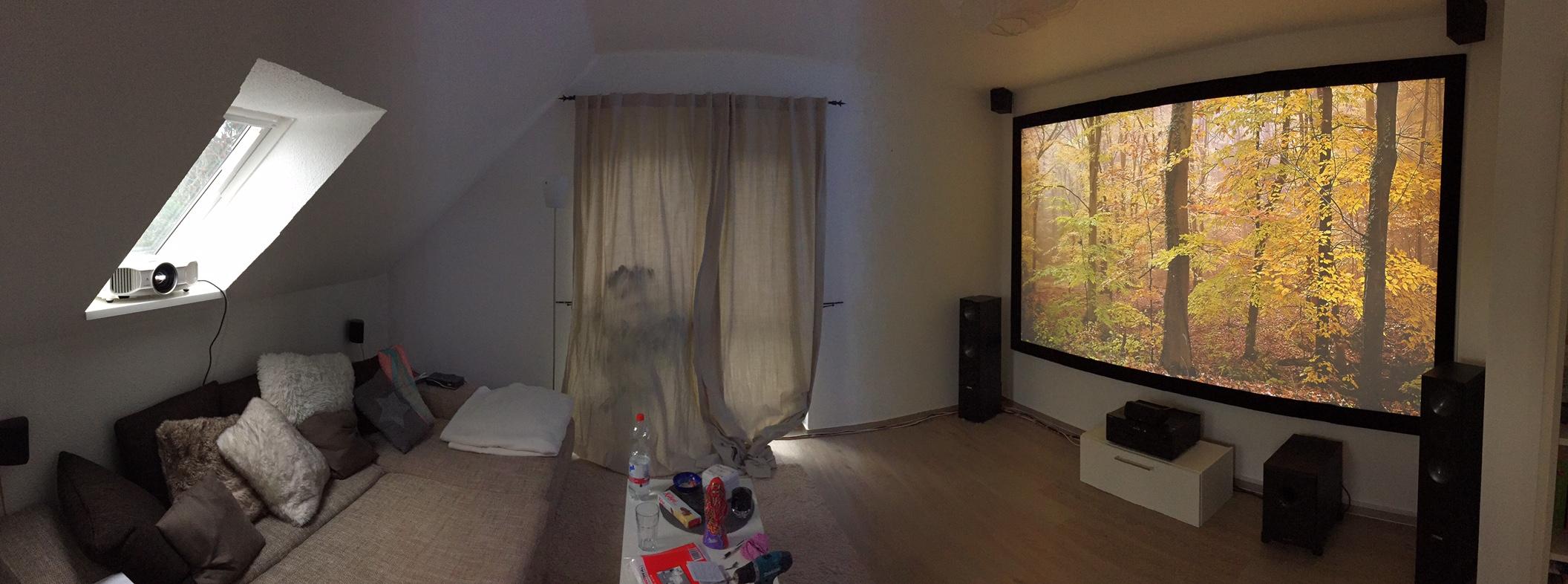 heimkino mit tv ideen inspiration f r die. Black Bedroom Furniture Sets. Home Design Ideas