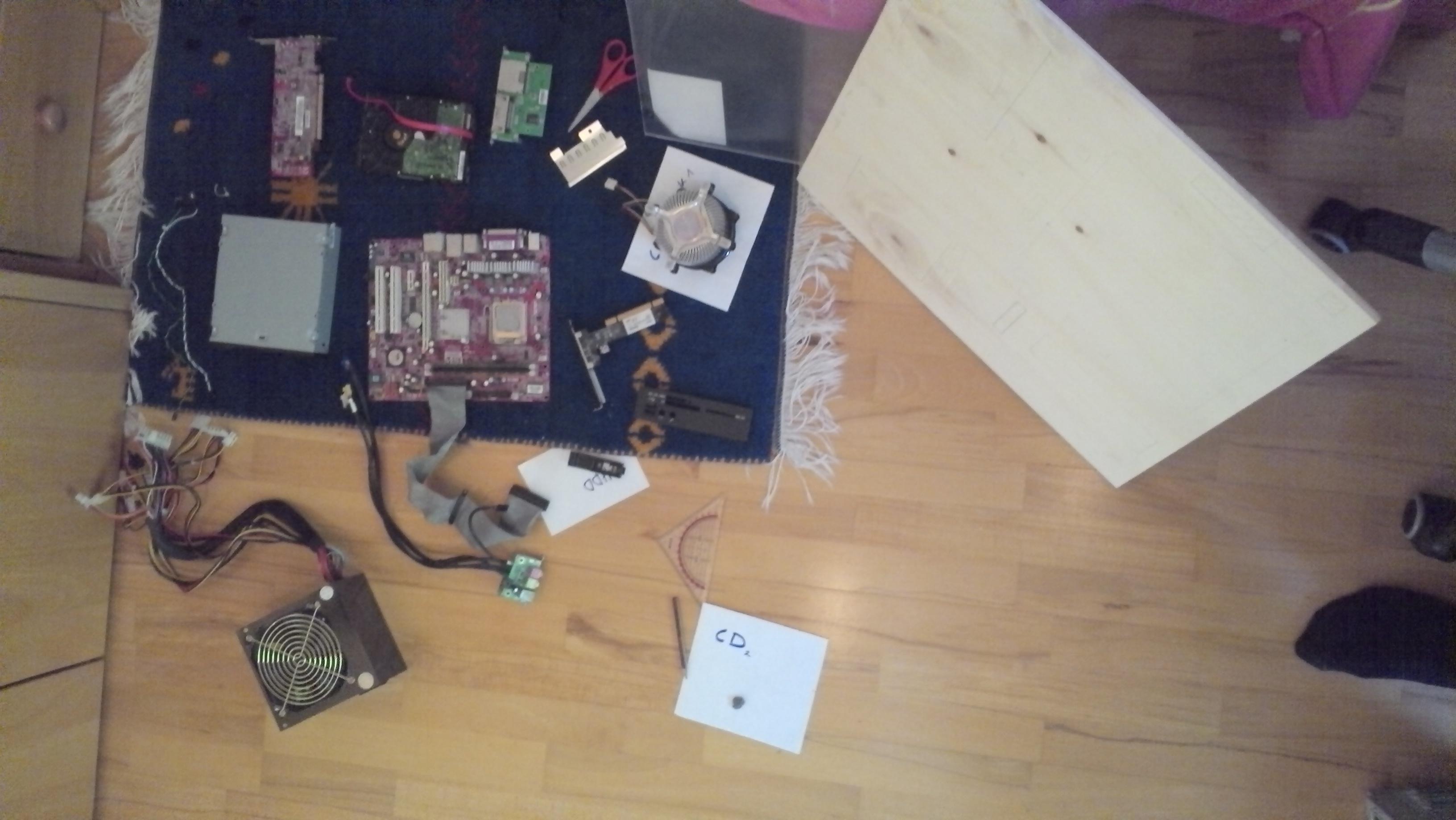 wall mounted pc ein schmuckst ck an der wand finished. Black Bedroom Furniture Sets. Home Design Ideas