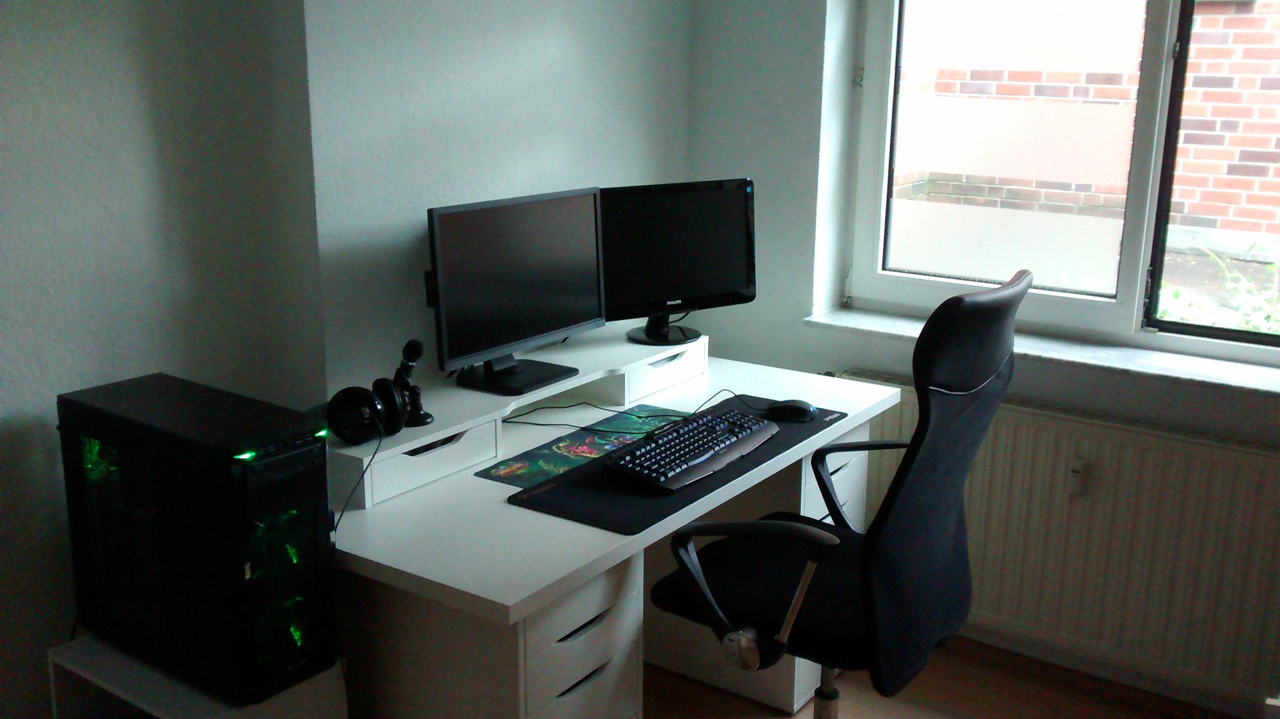 Einzigartig Pc Schreibtisch Selber Bauen Schema