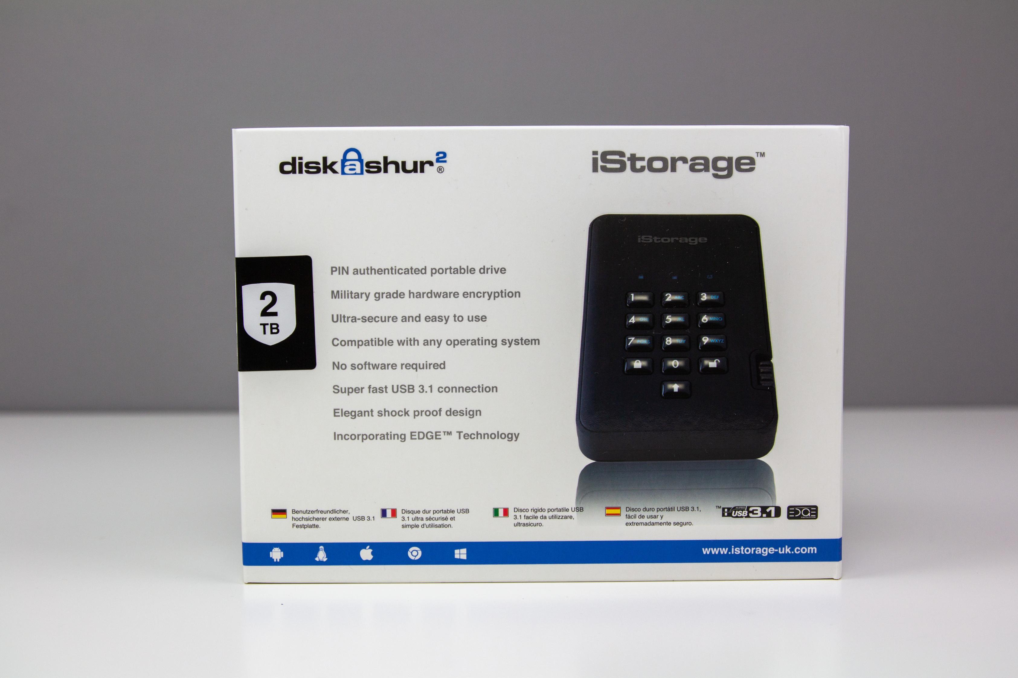Test] iStorage diskAshur2 HDD (2TB)