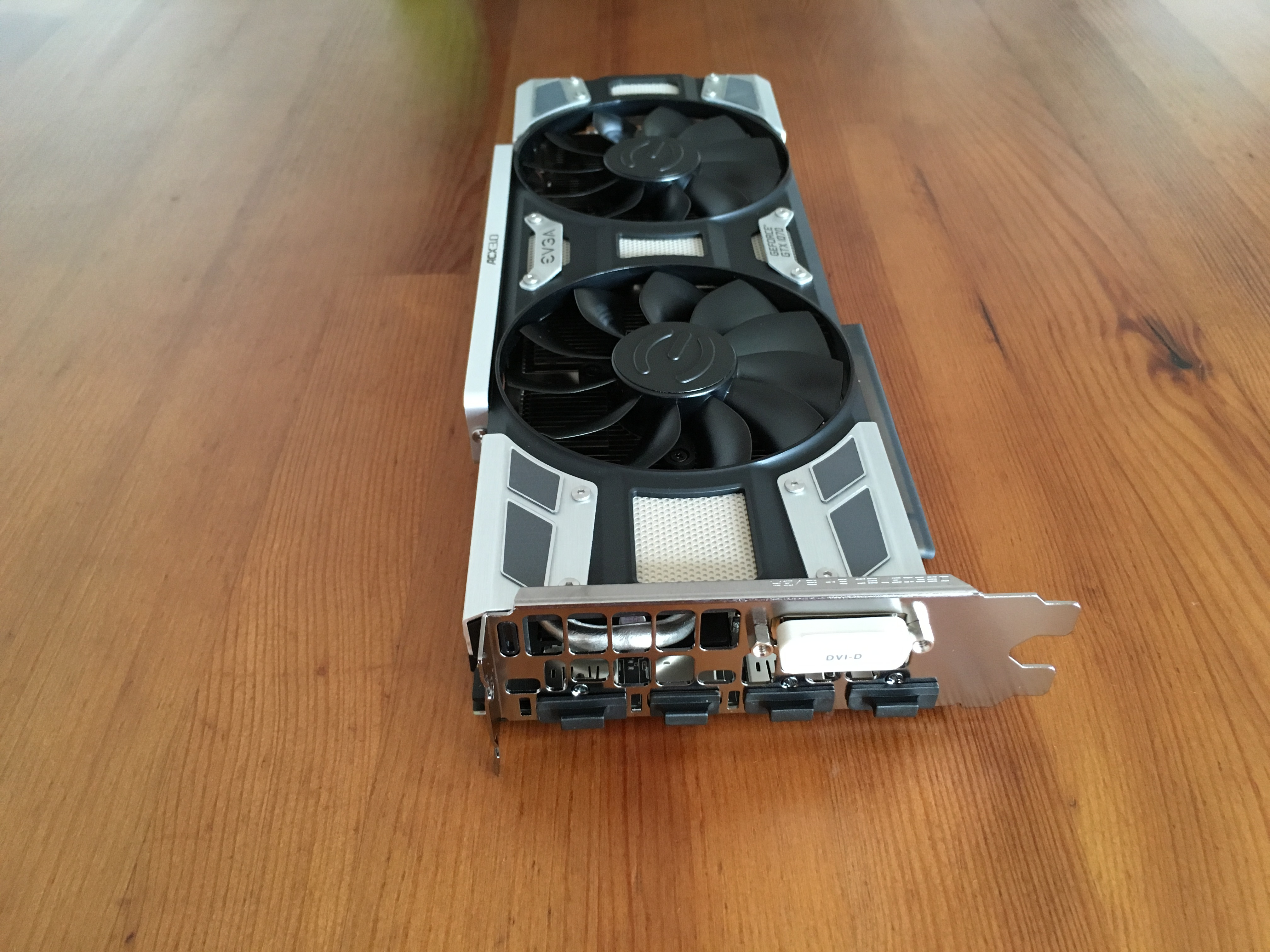 Evga Gtx 1070 Sc Gaming Acx 30 Overclock Image Information Geforce 1060 Ftw 06g P4 6368 Kr 6gb Gddr5 Review