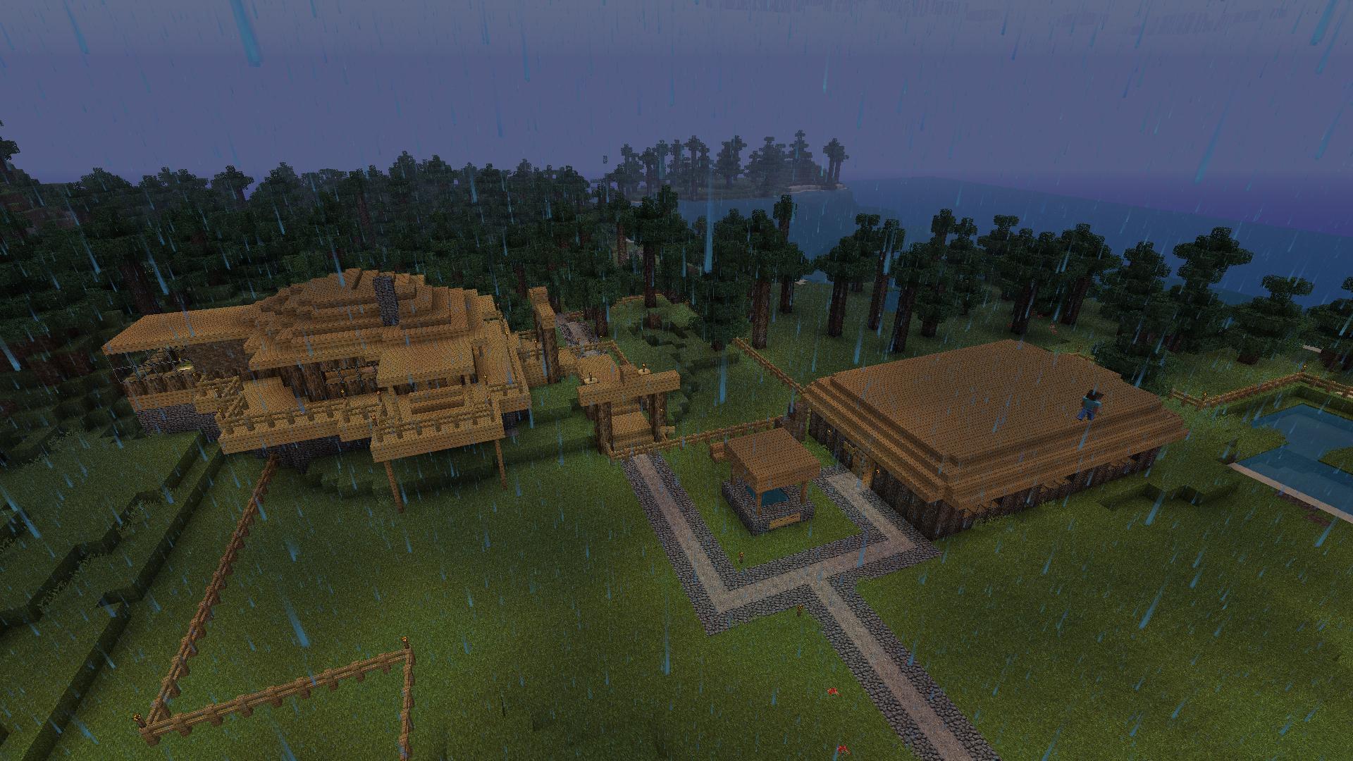 Minecraft hühnerfarm