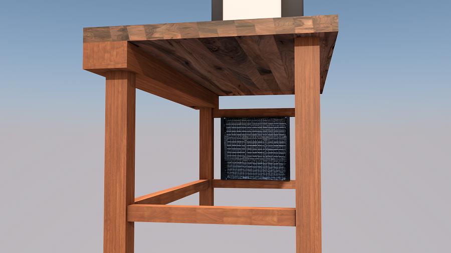 projekt ein tisch entsteht von grund auf lets go. Black Bedroom Furniture Sets. Home Design Ideas