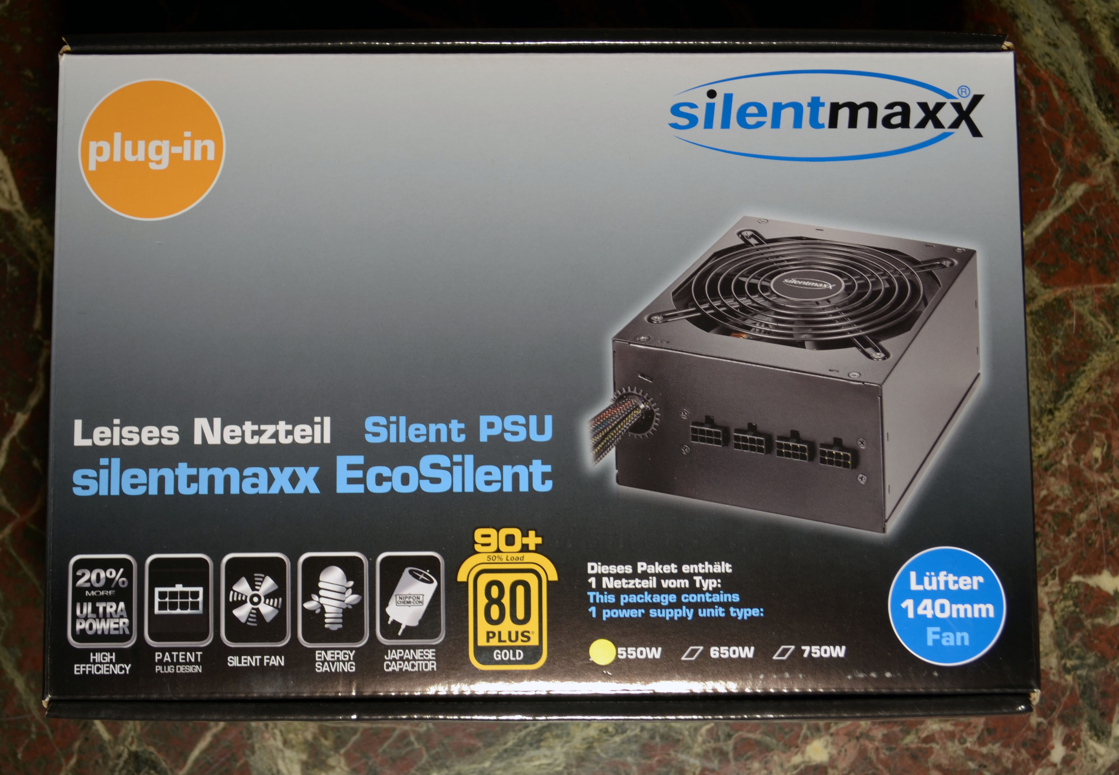 user review silentmaxx eco silent 550w start stopp. Black Bedroom Furniture Sets. Home Design Ideas