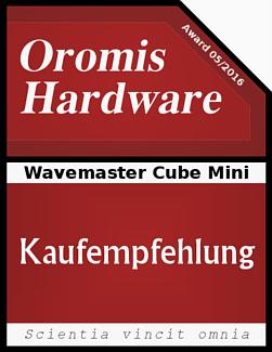 Lesertest Wavemaster Cube Mini Kleine Wunderquader