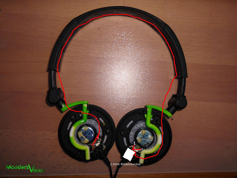 Kopfhörer neu verkabeln
