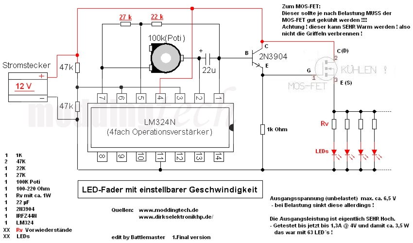 Klicken Sie auf die Grafik für eine größere Ansicht  Name:LED Fader.jpg Hits:395 Größe:183,0 KB ID:396674