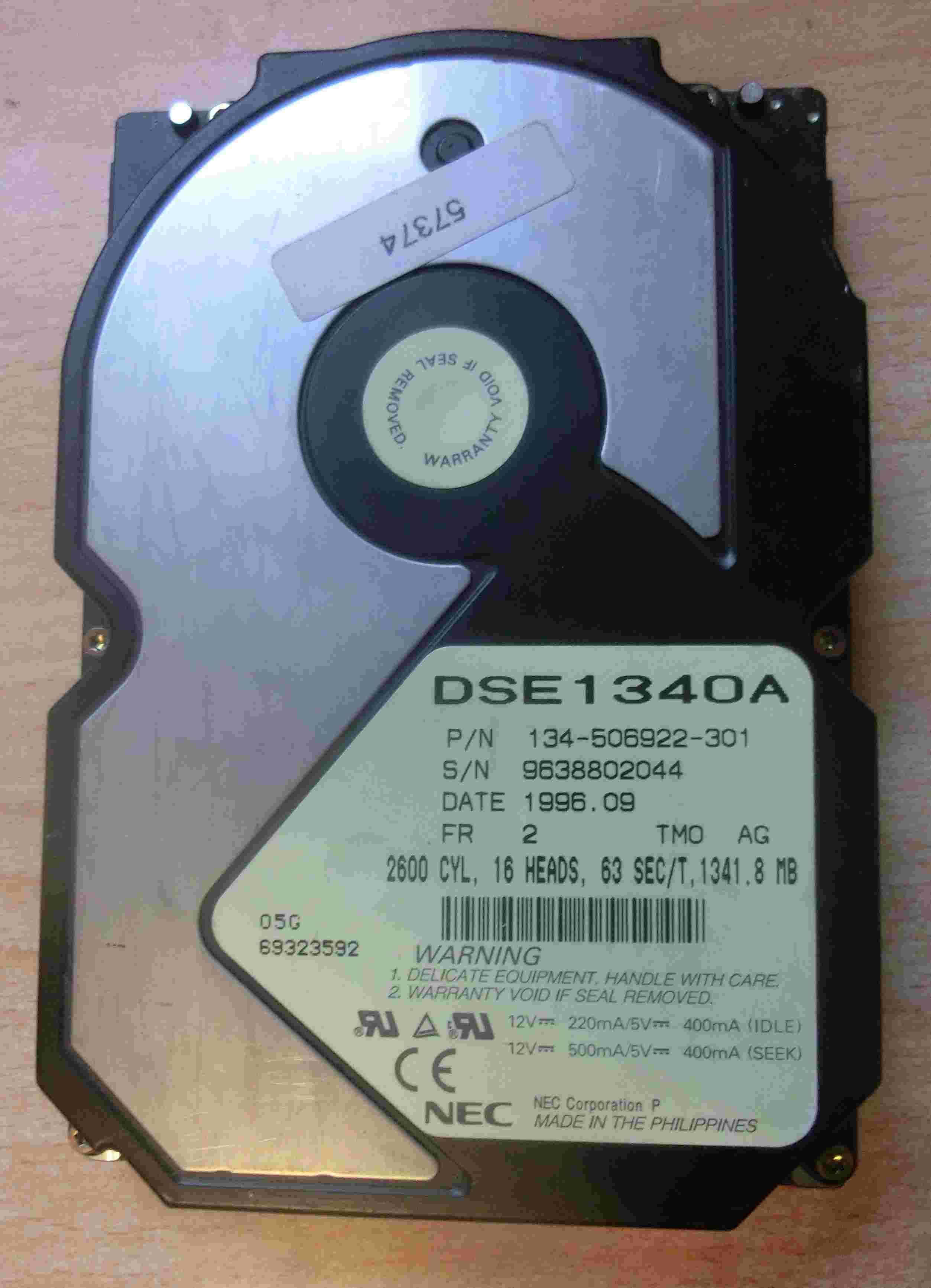 Klicken Sie auf die Grafik für eine größere Ansicht  Name:NEC 1.3GB.JPG Hits:87 Größe:188,7 KB ID:596540
